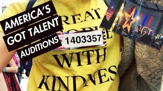Americas Got Talent Audition  Vlog