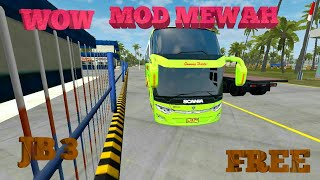 Review Bus Mewah JB 3 SHD Tronton|| Bussid V2.9 Free and share link