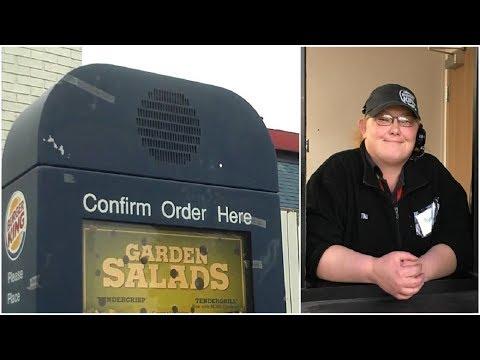 Burger King Employee Rushes To Get Food To Diabetic Customer