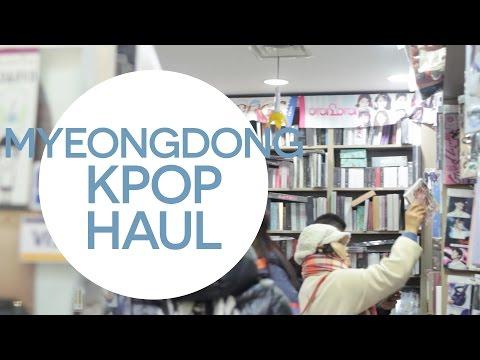 MYEONGDONG KPOP HAUL + TIPS IN KPOP SHOPPING - Korea December 2016