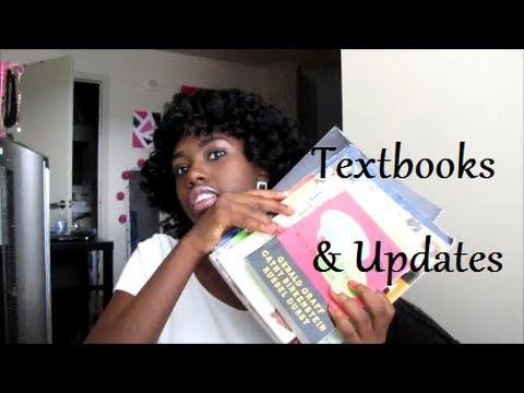 College Series: Buying Textbooks + Updates