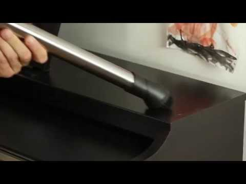 How to clean dust with Miele Ecoline Classic C1 vacuum cleaner