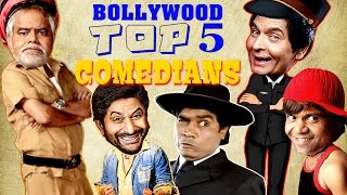 Top 5 Bollywood Comedians {HD} Ft - Johnny Lever | Rajpal Yadav | Sanjay Mishra | #IndianComedy