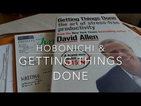 Hobonichi   Getting Things Done