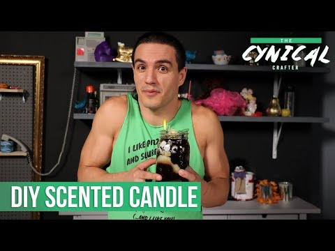 DIY Scented Candle | The Cynical Crafter