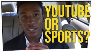 College Football Player Forced to Give Up YouTube!? ft. DavidSoComedy
