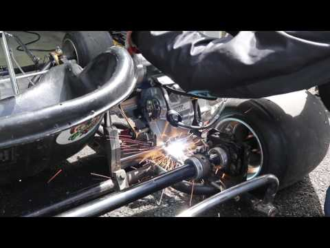Stick Shift Go Kart Build Part 2: Mounting the Engine