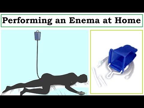 How to Perform an Enema | Using a Home Enema Kit