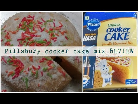 PILLSBURY cooker cake mix REVIEW | Cooking with LA