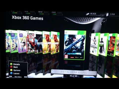 XBOX 360 Slim 4GB Jtag