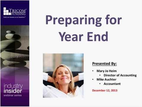 Alleviate Anxiety: Prepare for Year End with Ease
