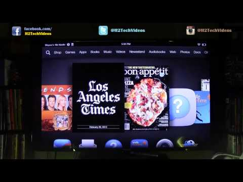 Kindle Fire HDX - How to Wirelessly Mirror to a TV (Using Amazon Fire TV)​​​ | H2TechVideos​​​