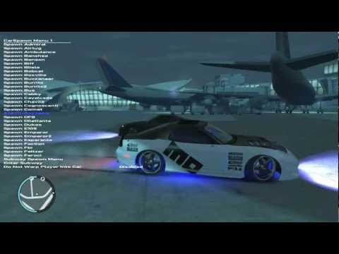 GTA IV Mod Menu Gameplay+Download (ONLY for PC)