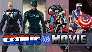 Captain America's Costume Origins: From Comics To Movies - DIStory Ep. 33