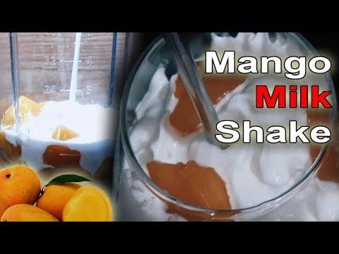 Mango Milk Shake - Easy Peasy