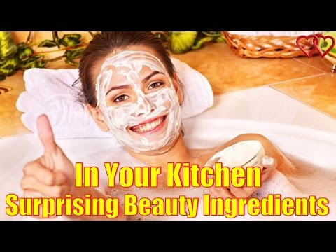 5 Surprising Beauty Ingredients That Are Hiding In Your Kitchen