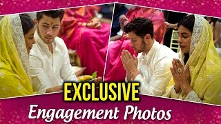 EXCLUSIVE Priyanka Chopra Nick Jonas ENGAGEMENT PICTURES | Romantic ROKA Ceremony