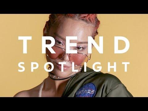 Trend Spotlight: Metallics, Glitter And Rainbows
