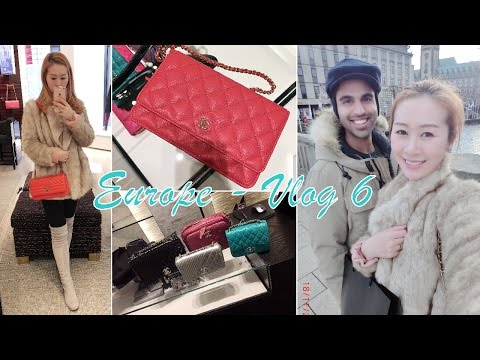 EUROPE 🇪🇺 VLOG 6 - SHOPPING IN GERMANY - LUXURY SHOPPING - CHANEL, LOUIS VUITTON AND MORE ♥