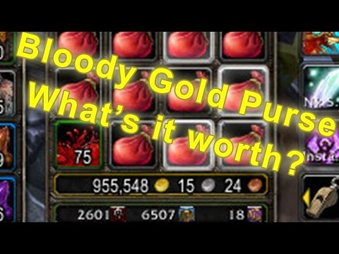 World of Warcraft - Opening 300 Bloody Gold Purse SAVAGE BLOOD [WoW Gold Farming Guide]