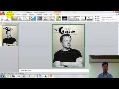 How to design a magazine cover using Microsoft PowerPoint  mtca