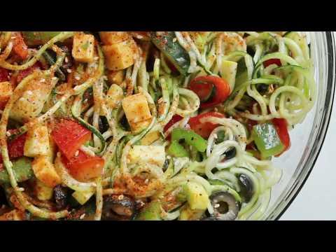 Zucchini Spaghetti salad