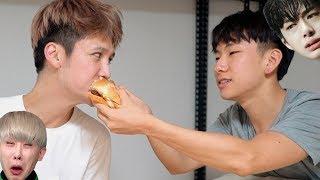 "I tried the ""Monsta X burger"" so you didn"