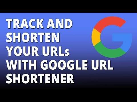 Track and shorten your links with google url shortener