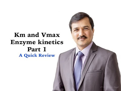 Enzyme Kinetics (Km and Vmax) - Part 1