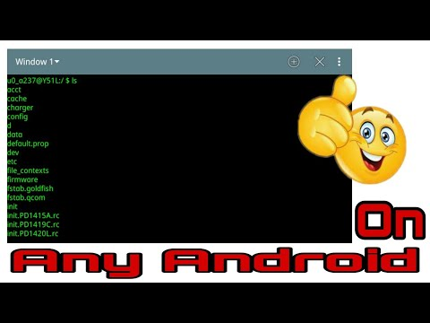 Terminal window for android    Latest update 2017    by Mr. Techy