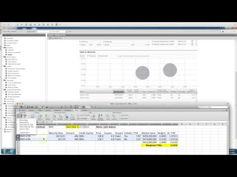 WACC Project - Collecting Bond Data from Morningstar Direct and Calculating Weighted YTM