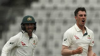 Pat Cummins Bowls the Worst Ball in Test Cricket History