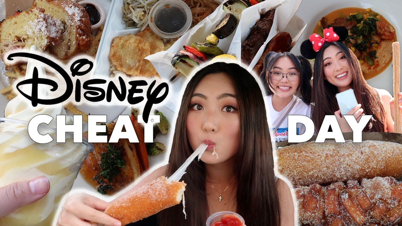 DISNEYLAND CHEAT DAY | FOLLOWERS CHOOSE WHAT I EAT | Eating Whatever I Want for a Weekend