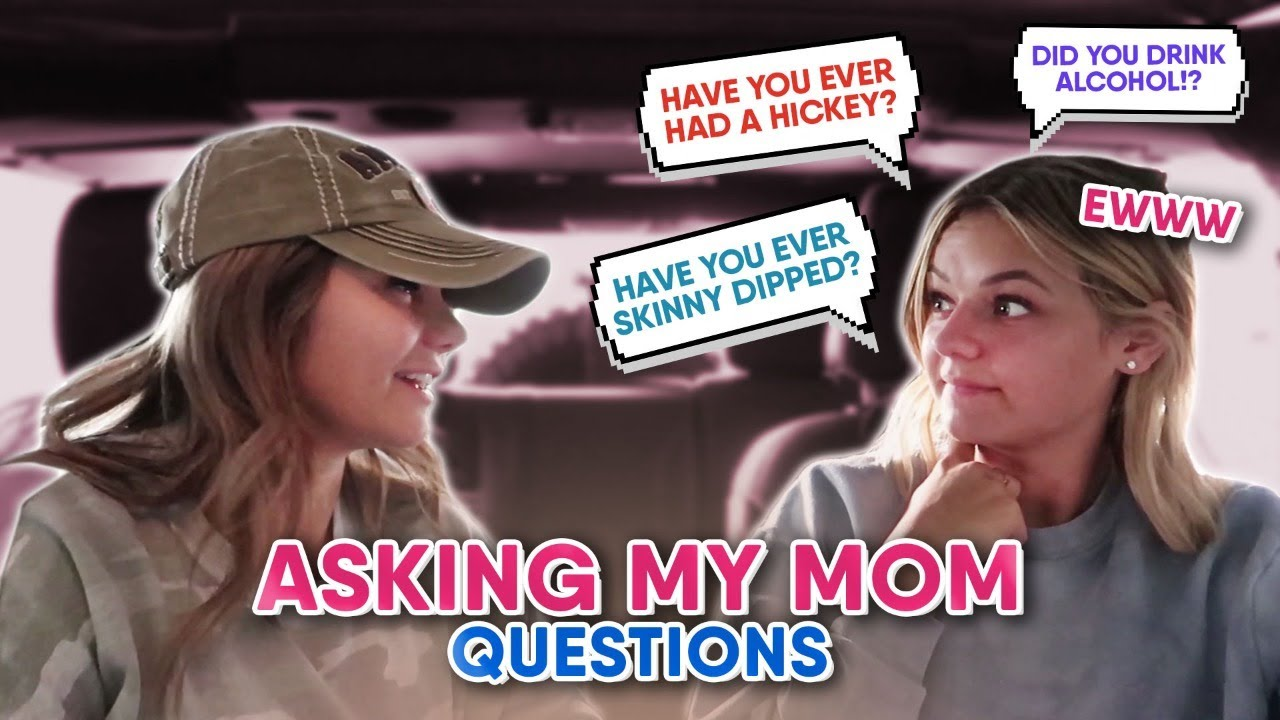 Asking My Mom Awkward Questions Teens Are too Afraid To Ask Theirs || Kesley Jade LeRoy