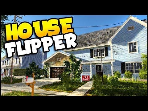 Flippin Houses! House Flipper Simulator LIVE STREAM!
