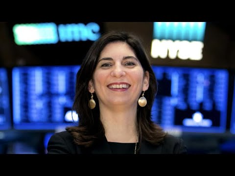 Stacey Cunningham makes history as first woman to lead NYSE