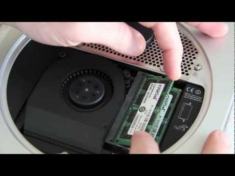 Mac mini (Late 2012) - RAM Upgrade/Installation Tutorial