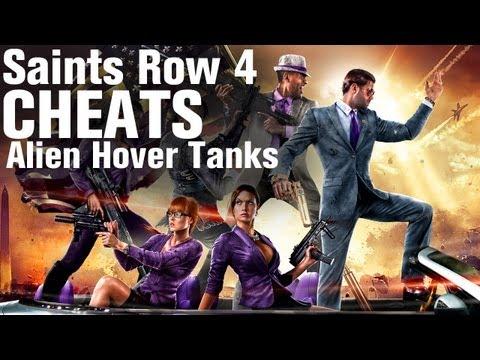 Saints Row 4 Cheats: Alien Hover Tank