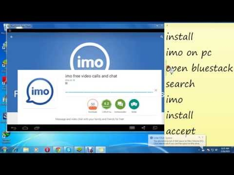 install IMO Video calling app on laptop and pc Most Viewed ..Free CAlling ✔