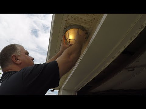 How to Install Outdoor Ceiling Lighting Fixture