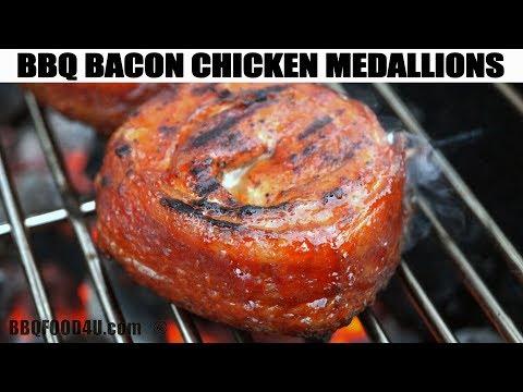 BBQ Bacon Chicken Medallions - BBQFOOD4U