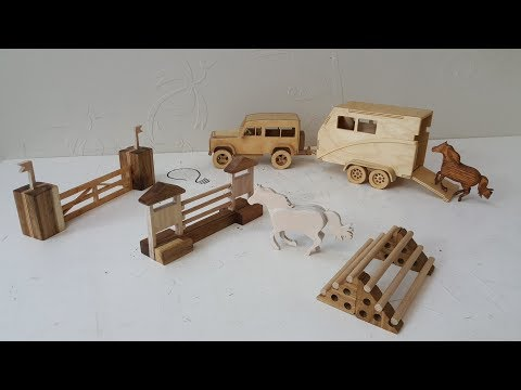 Wooden Toys - Horse Parkour vol. 2