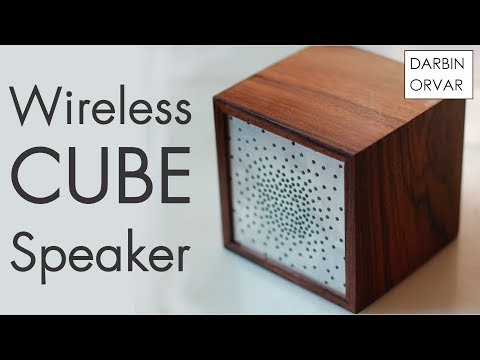 Retro Bluetooth Cube Speaker