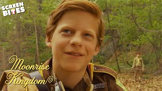 Lucas Hedges Gets Attacked! | Moonrise Kingdom | SceneScreen