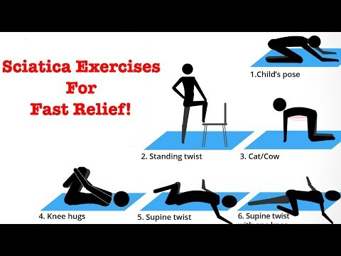 Sciatica Exercises For Fast Pain Relief