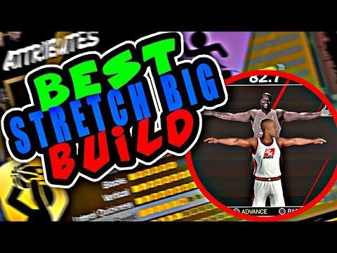 NBA 2K18 BEST STRETCH BIG BUILD! BEST BIG MAN BUILD (3PT SHOOTING) 2K18 GAMEPLAY