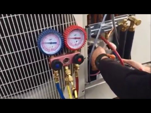 Commissioning  Air Conditioning Split System - Air Environmental