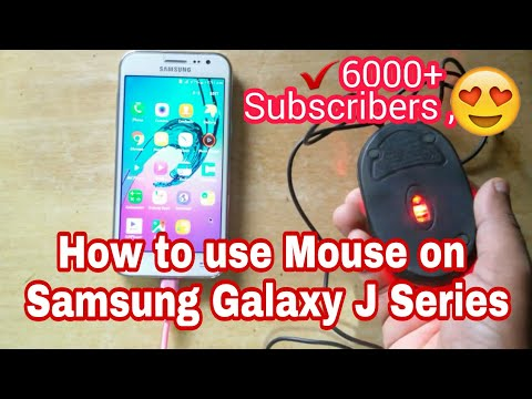 Samsung Galaxy J2 OTG Test with USB Mouse |  Why ? Explained - Hindi