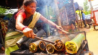 Indian Street Food Bamboo Chicken In HINDI - How to Make Bamboo Chicken