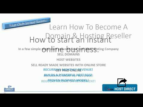 Host Direct - How to start your own hosting company